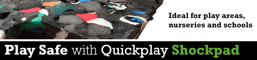 Play Safe with Quickgrass Quickplay ShockPad