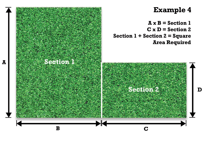 Measuring For Artificial Grass Example 4