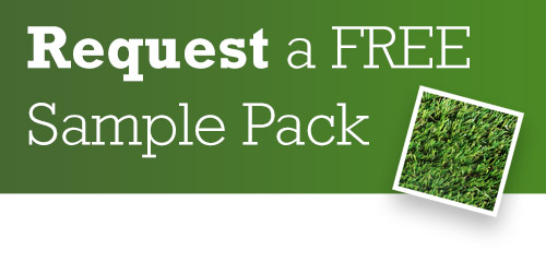 Request a FREE artificial grass sample pack