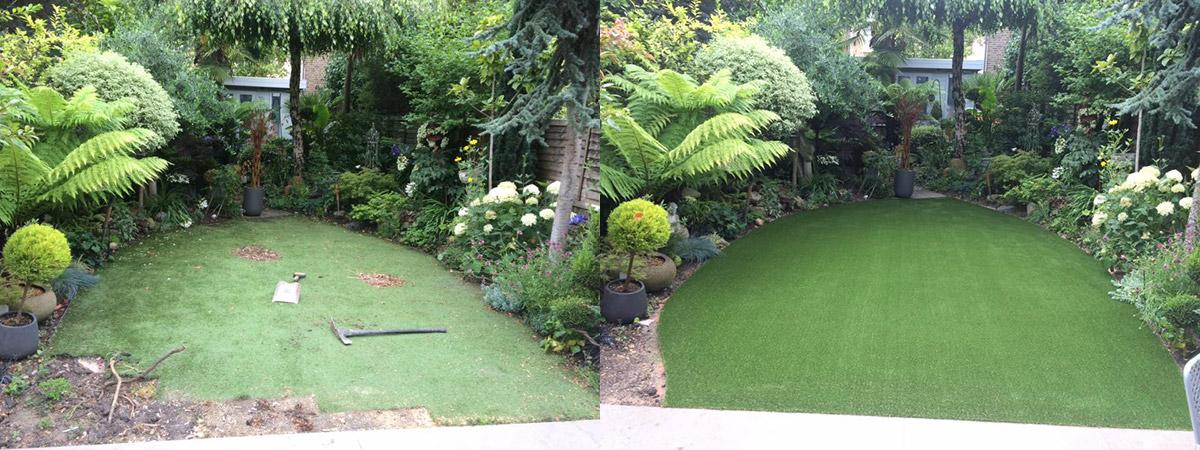 Amazing Garden Transformations | Artificial Grass in London