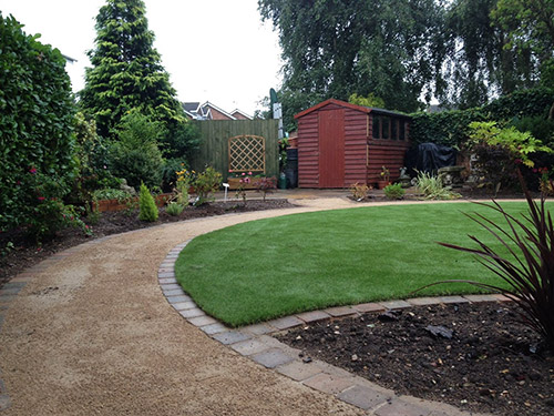 Woburn Artificial Grass Install Dunchurch