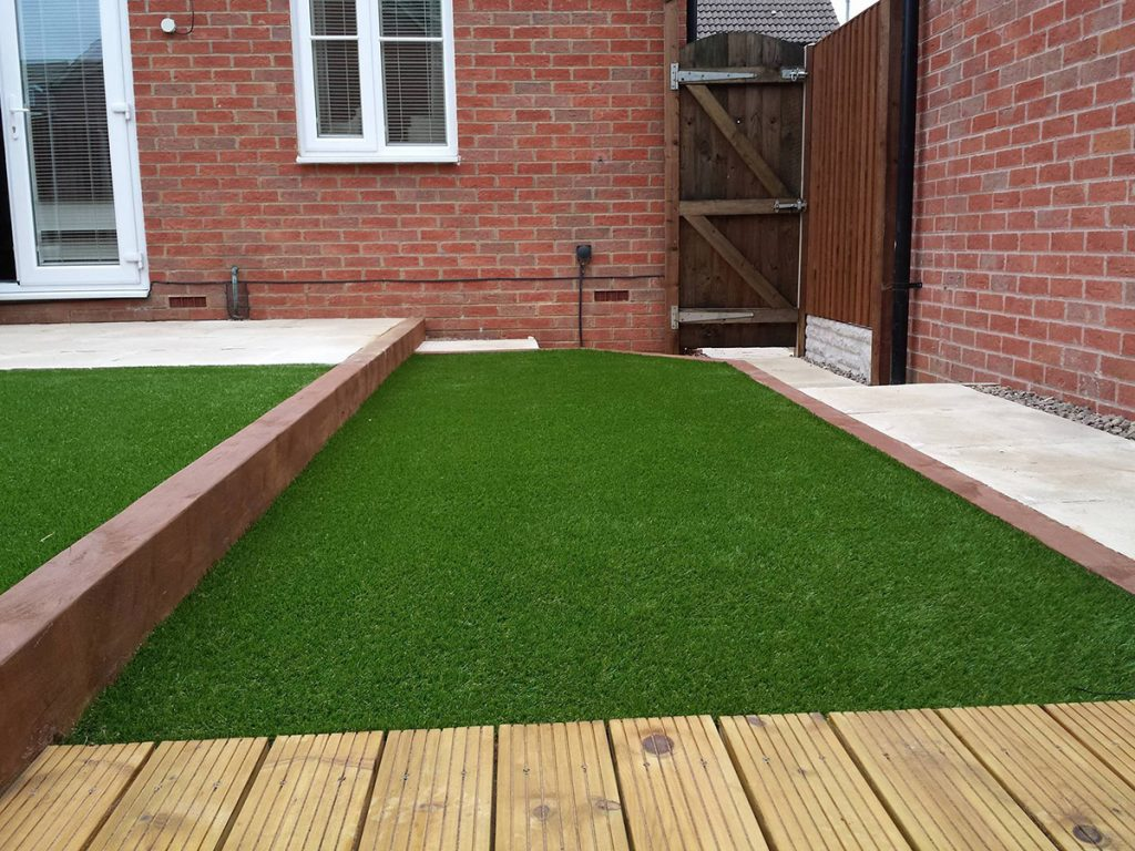 Installation by T & N Landscaping Northamptonshire