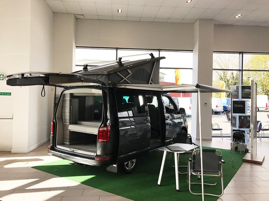 VW Display - Vindis Van Centre Northampton