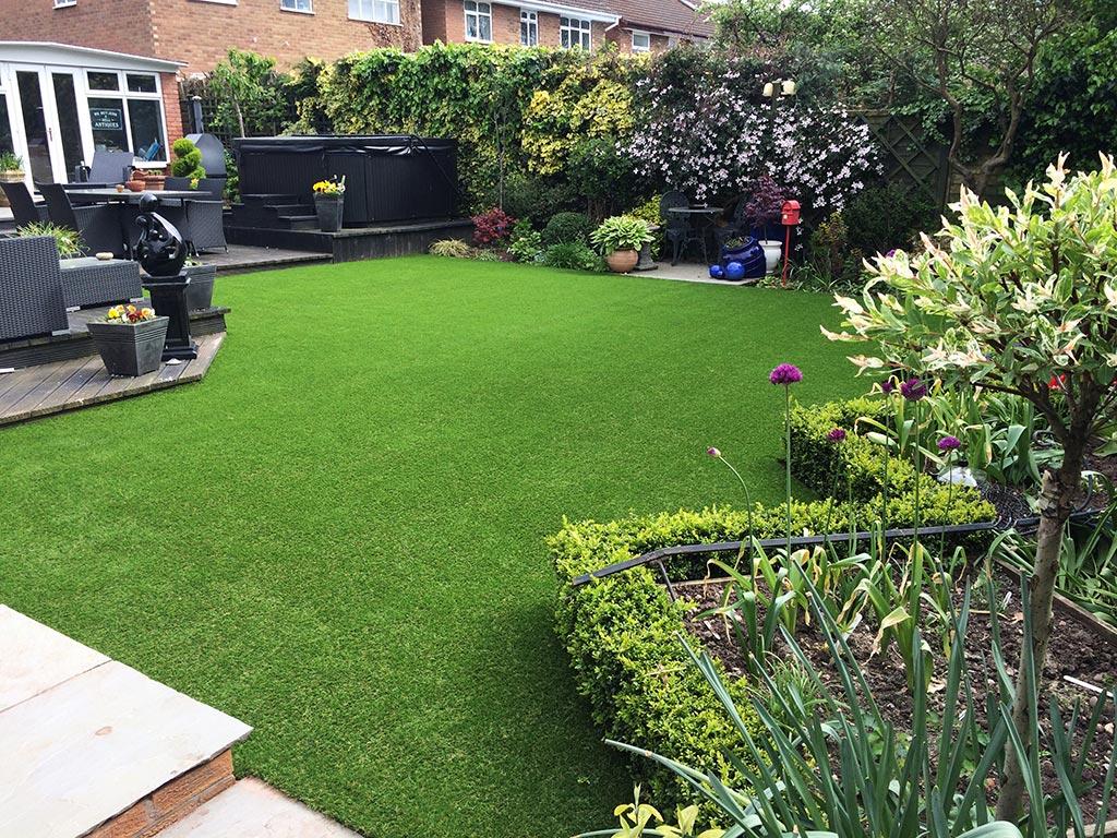 Artificial grass self install in Sutton Coldfield
