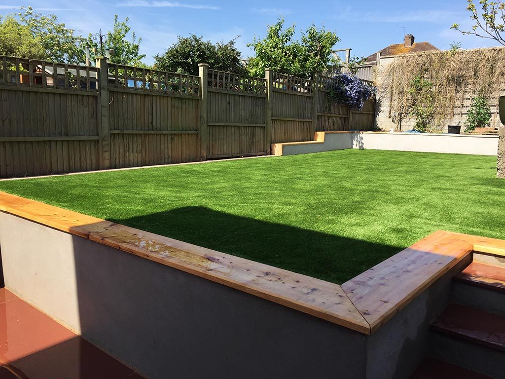Artificial Grass Install by Bristol Landscapes