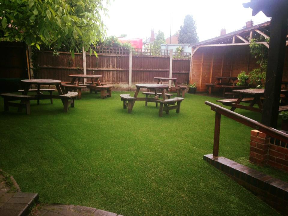 Pub Beer Garden Installation