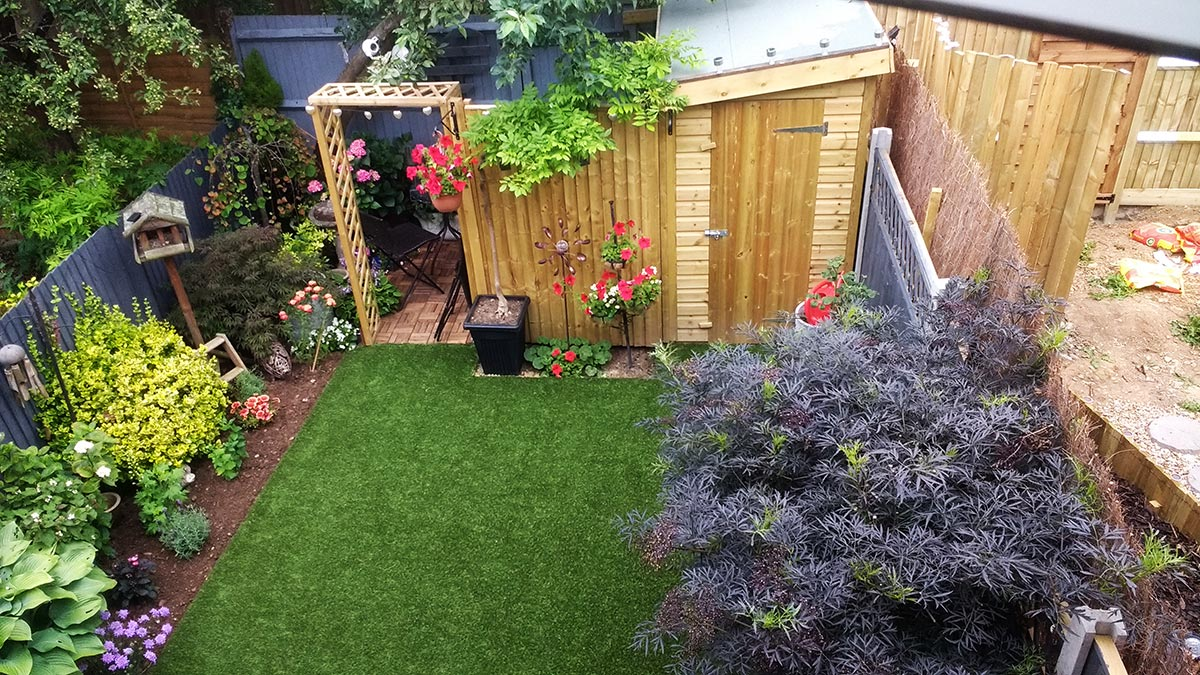 Richmond Artificial Grass Garden Installation