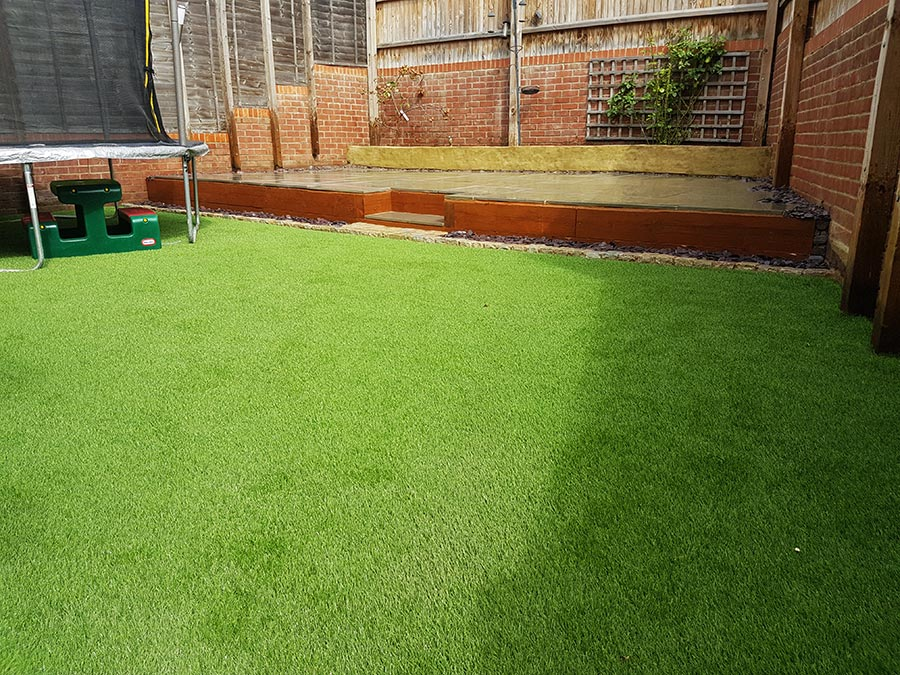 Artificial Grass Install by Stone Valley Landscapes