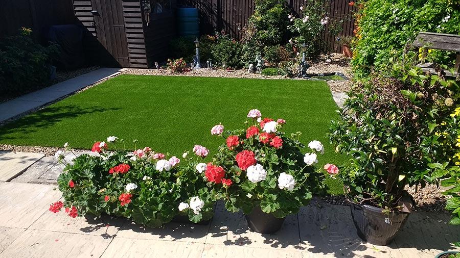 Artificial Grass Install Evesham