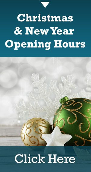 Xmas & New Year Opening Hours