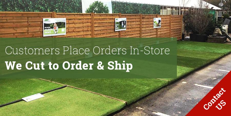 artificial grass for garden centres