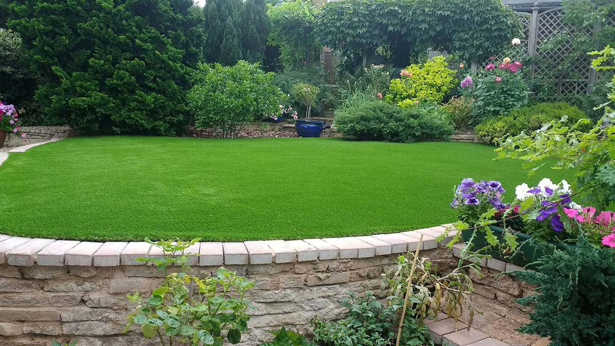 Artificial grass installation Droitwich