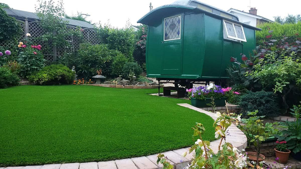 Artificial grass installation Droitwich