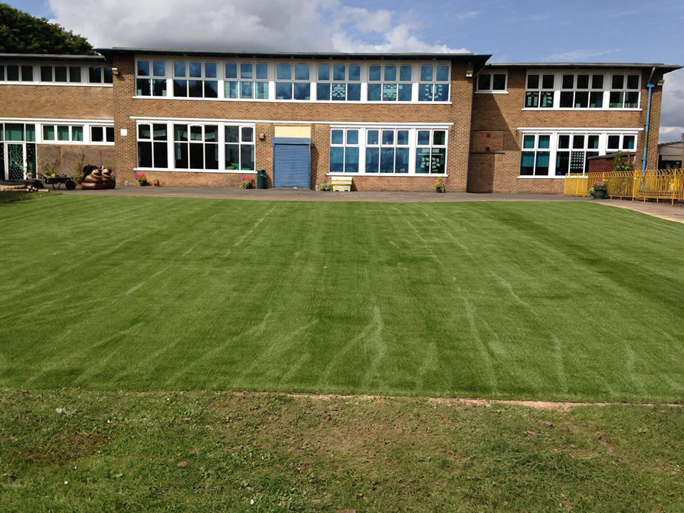 Sledmere Primary School Artificial Grass Installation
