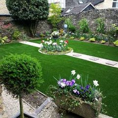Stow on the Wold artificial grass garden lawn