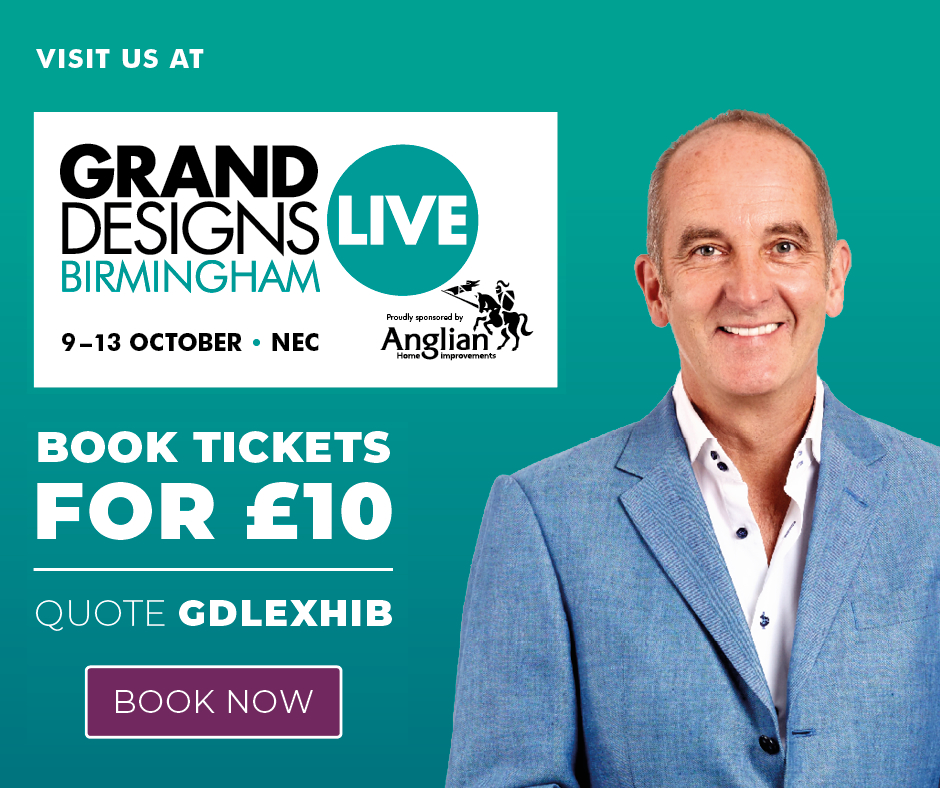 Visit us at Grand Designs Live