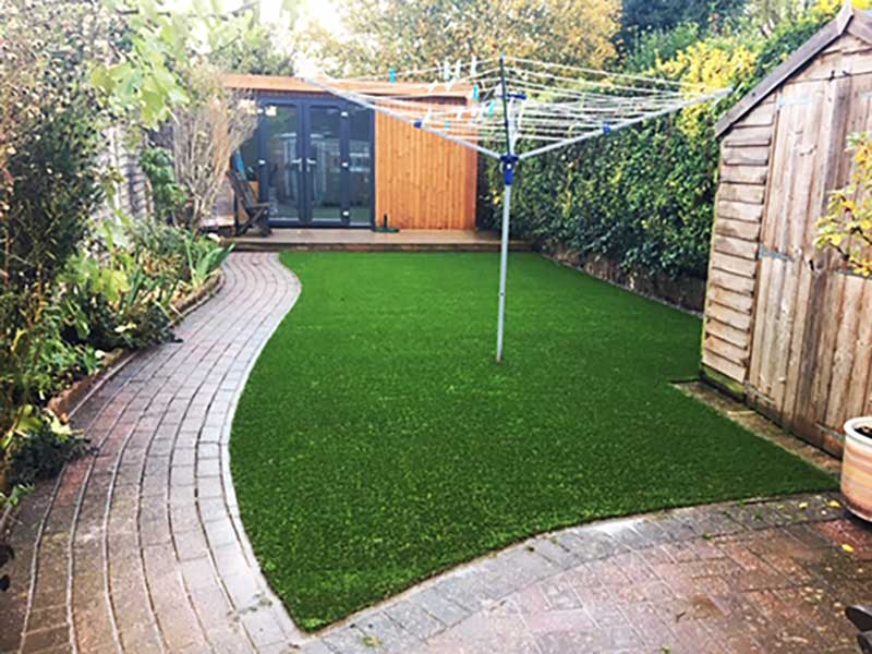 Artificial Grass Install Garden Hoppers Worcester