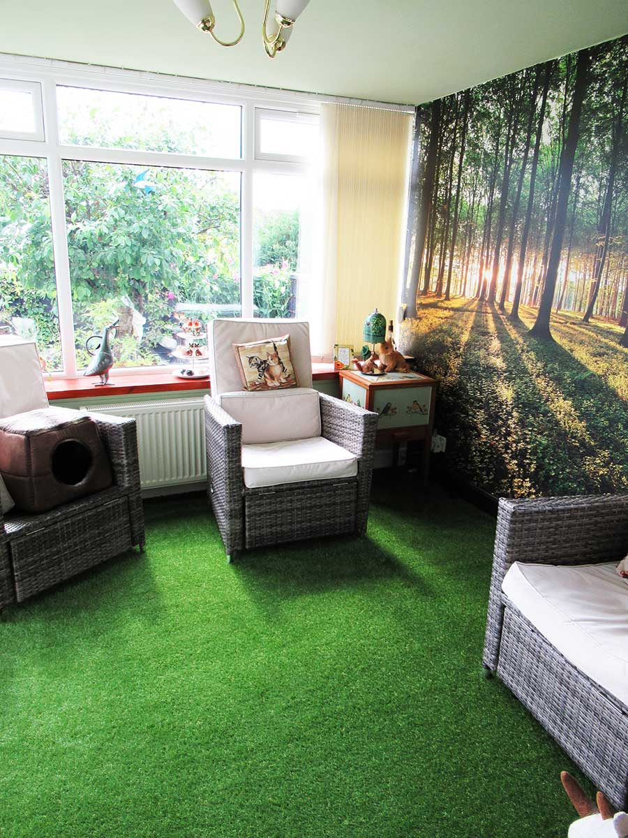Artificial Grass for Conservatories