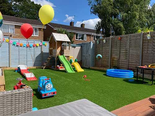 Ludlow Grass Install