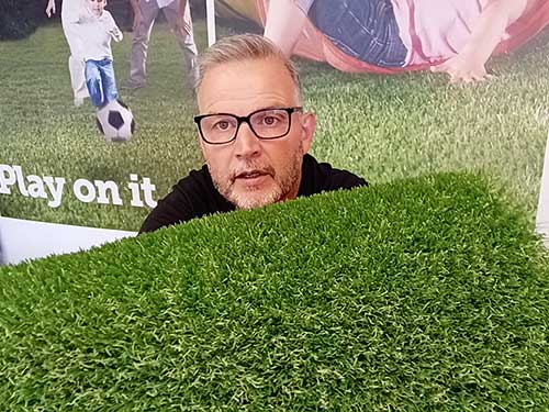Luxury PU 40 Artificial Grass Product Video